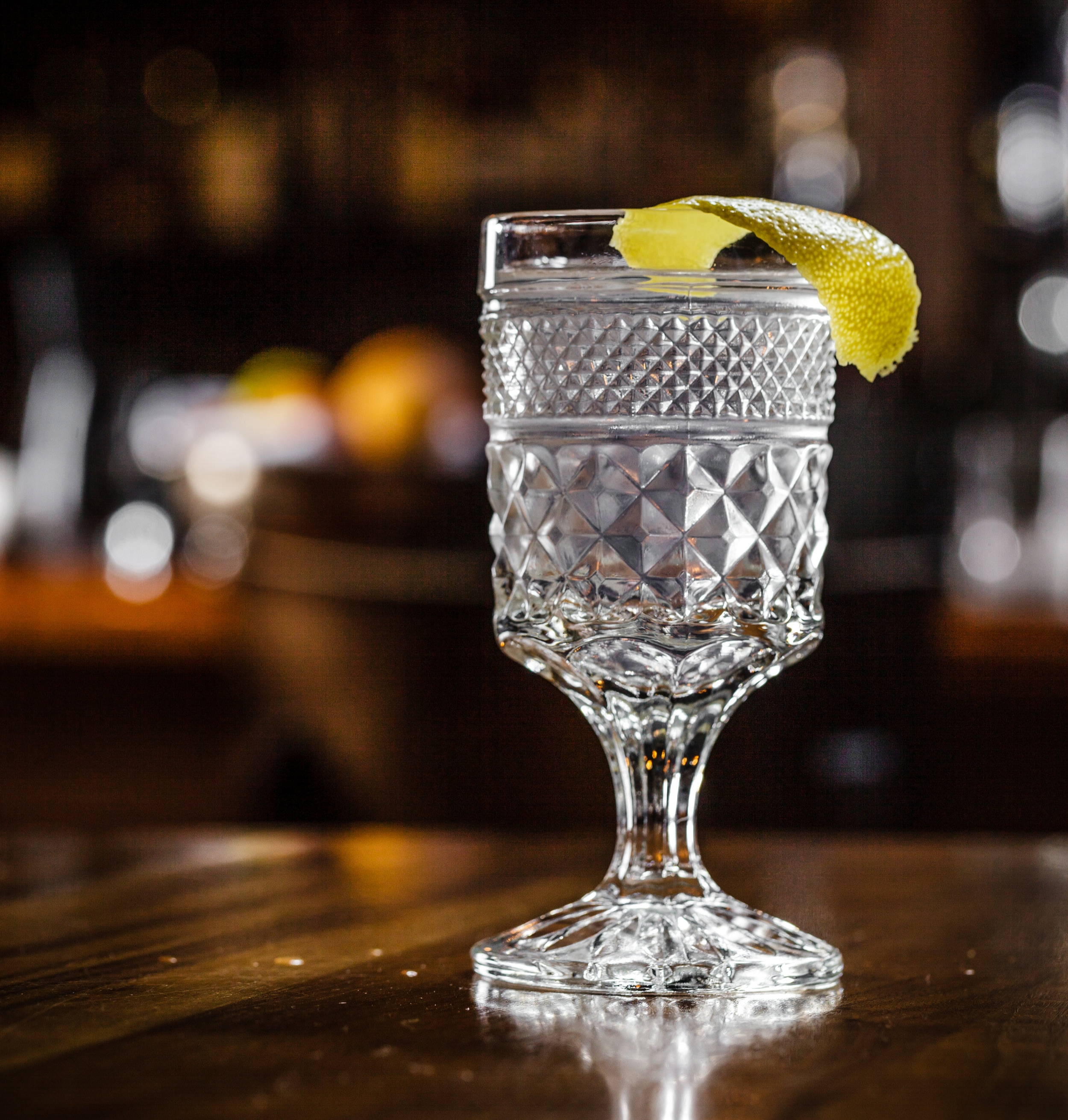 Gin Martini: a stirred - not shaken - classic  (Photo courtesy of Tom McGovern)