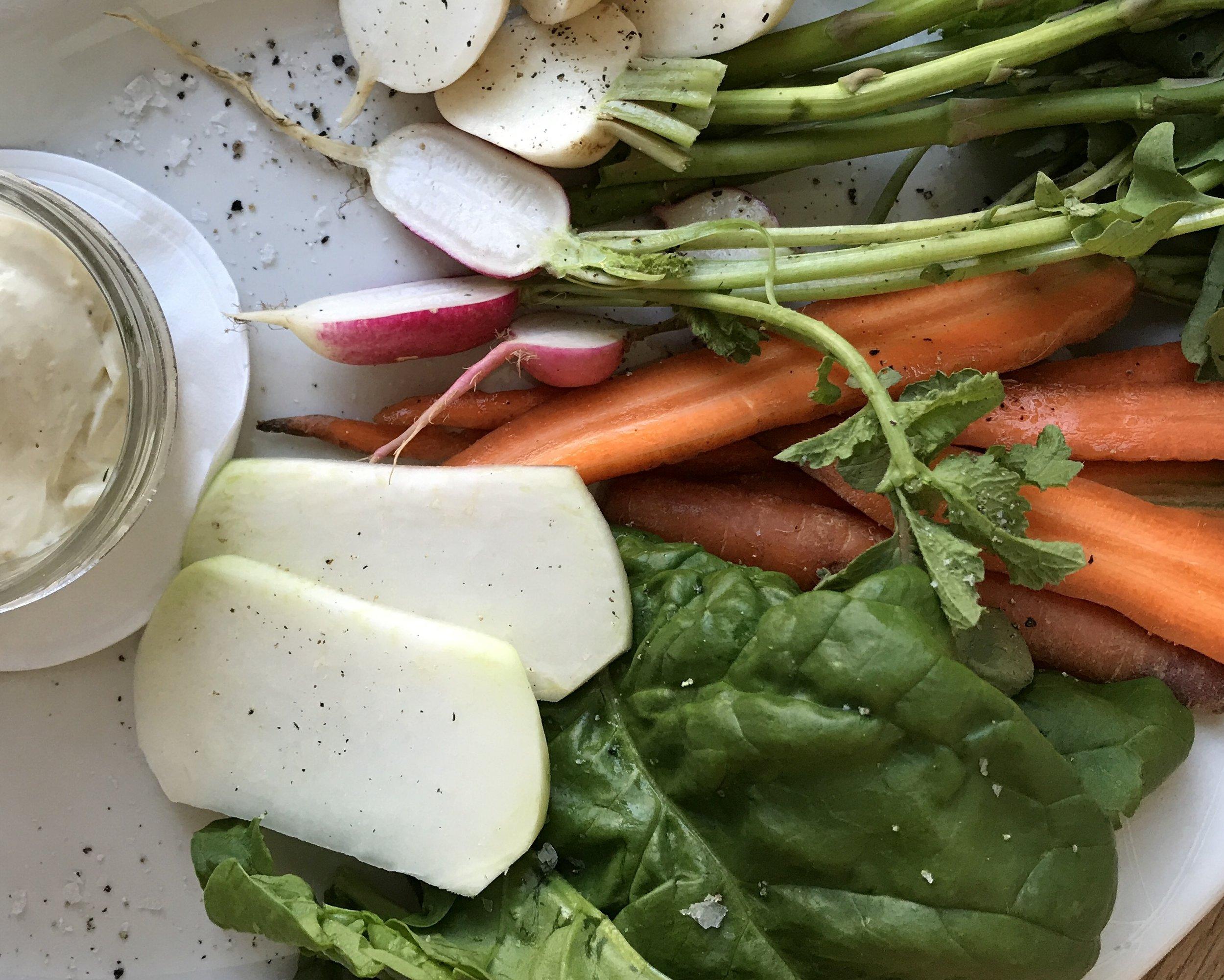 Fresh AF Veggie Platter