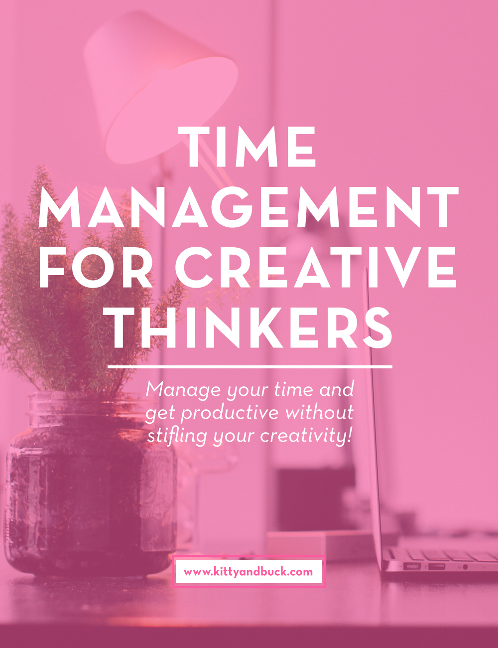 "Time Management for Creative Thinkers | What gets in the way of your super-organized day? If you're anything like me, procrastination and distractions are huge productivity killers. Click through to see how I combat distractions, and as a free bonus, you can enrol in my free ""Productivity For Creative Thinkers"" course, which will take you through a step-by-step process of realising your true productive powers! 