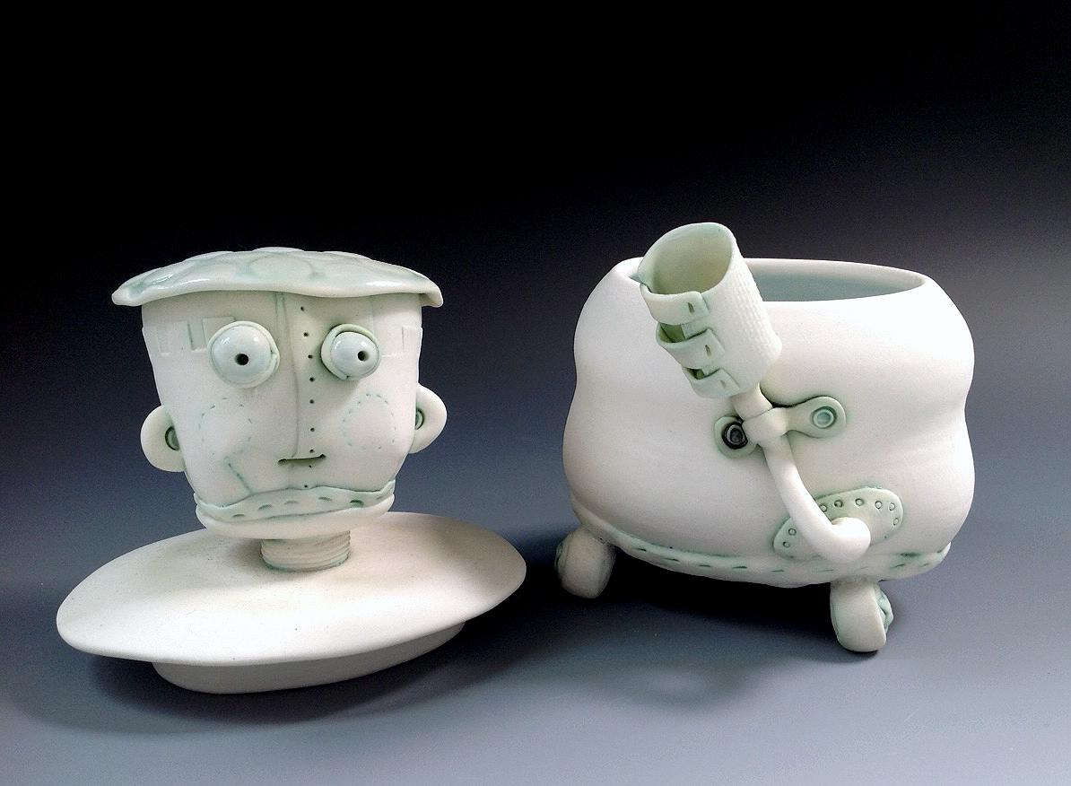 Porcelain Bot Jar no. 2 lid off Fleur Schell.jpg