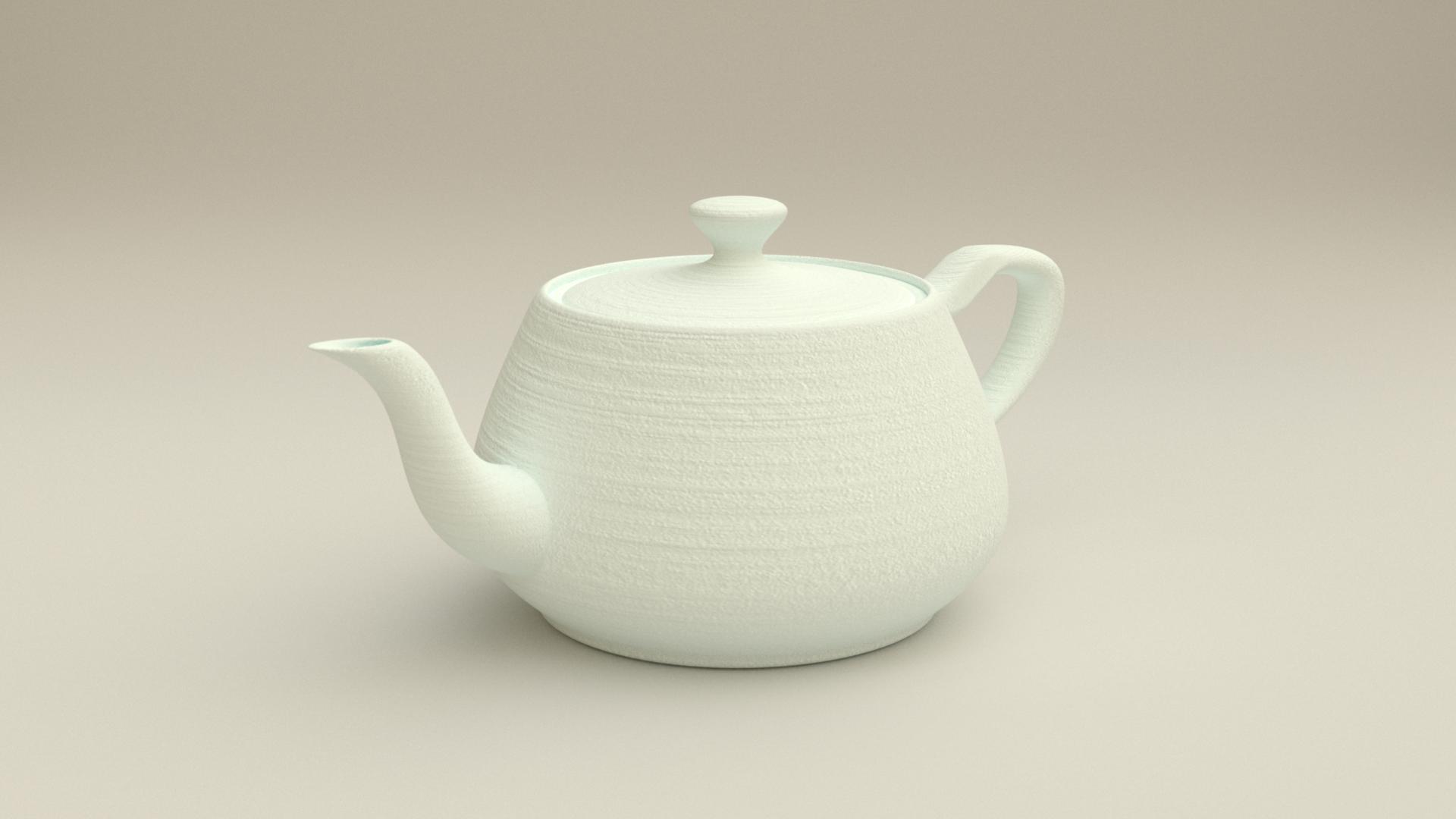 3D Print Simulator: Teapot