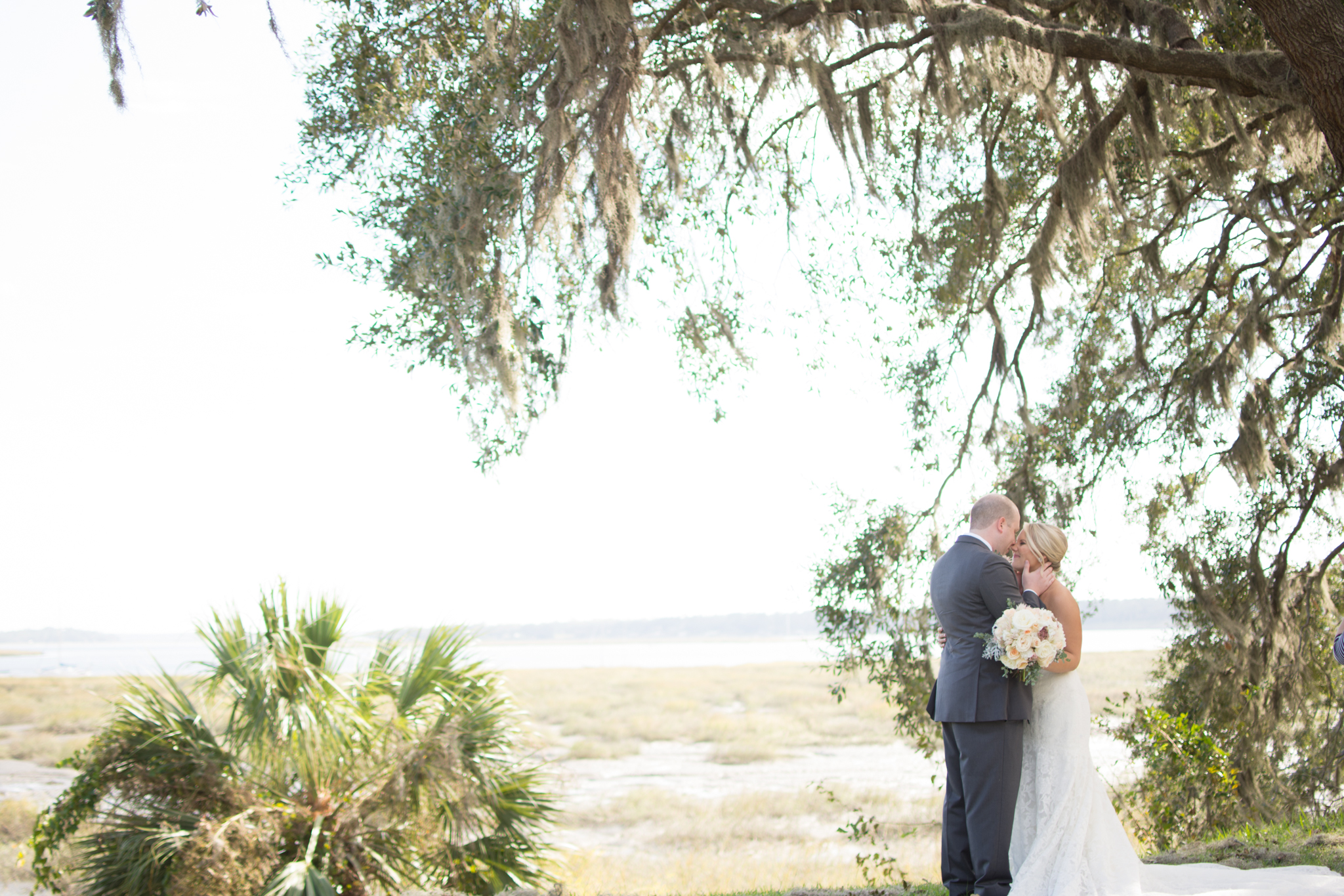Downtown Beaufort Waterfront Wedding
