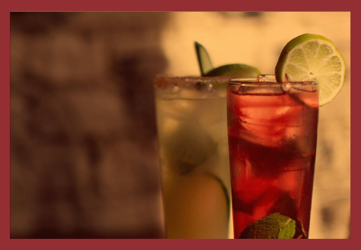 Drink Menu -