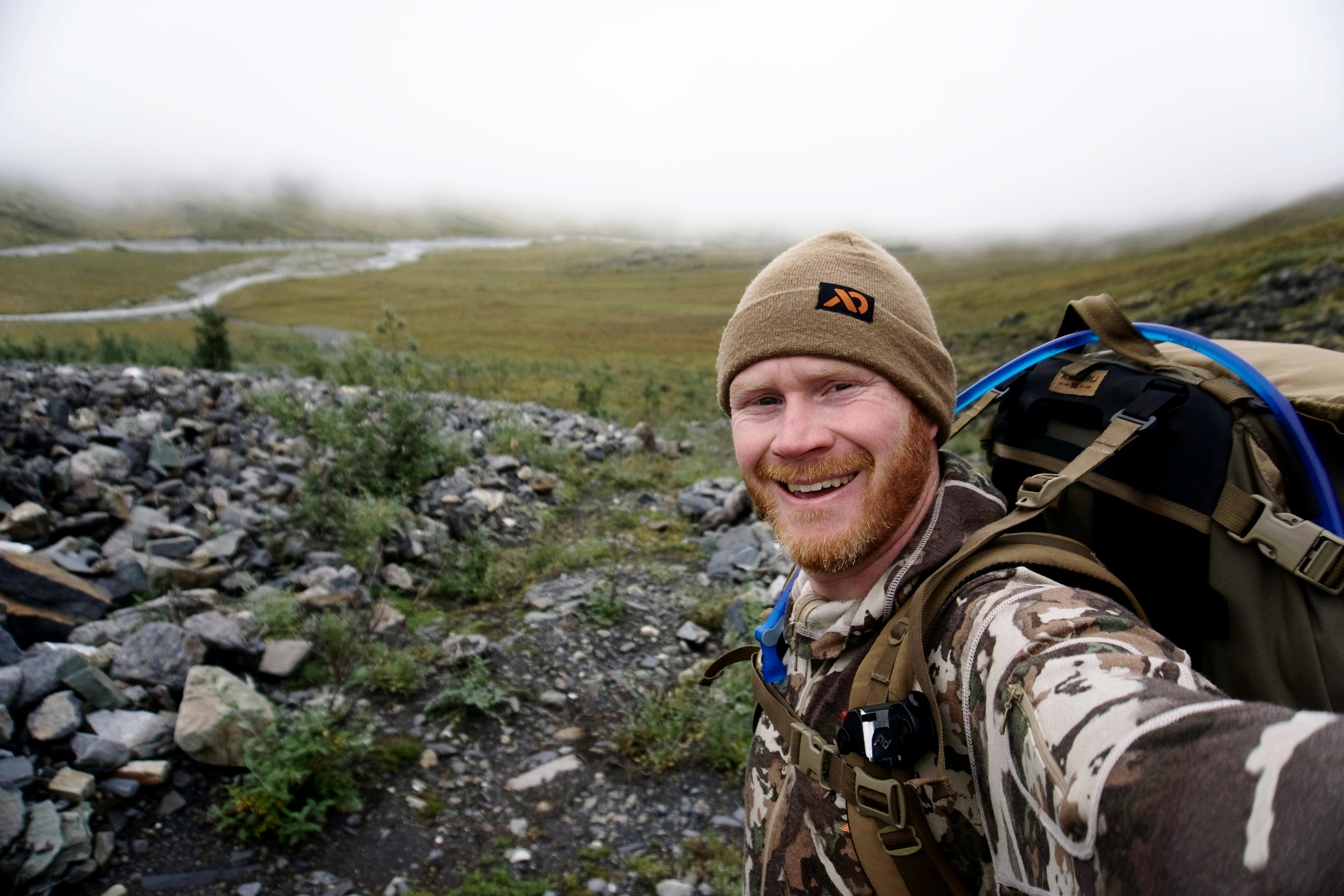 Packing for a guide in the Brooks Range, Alaska