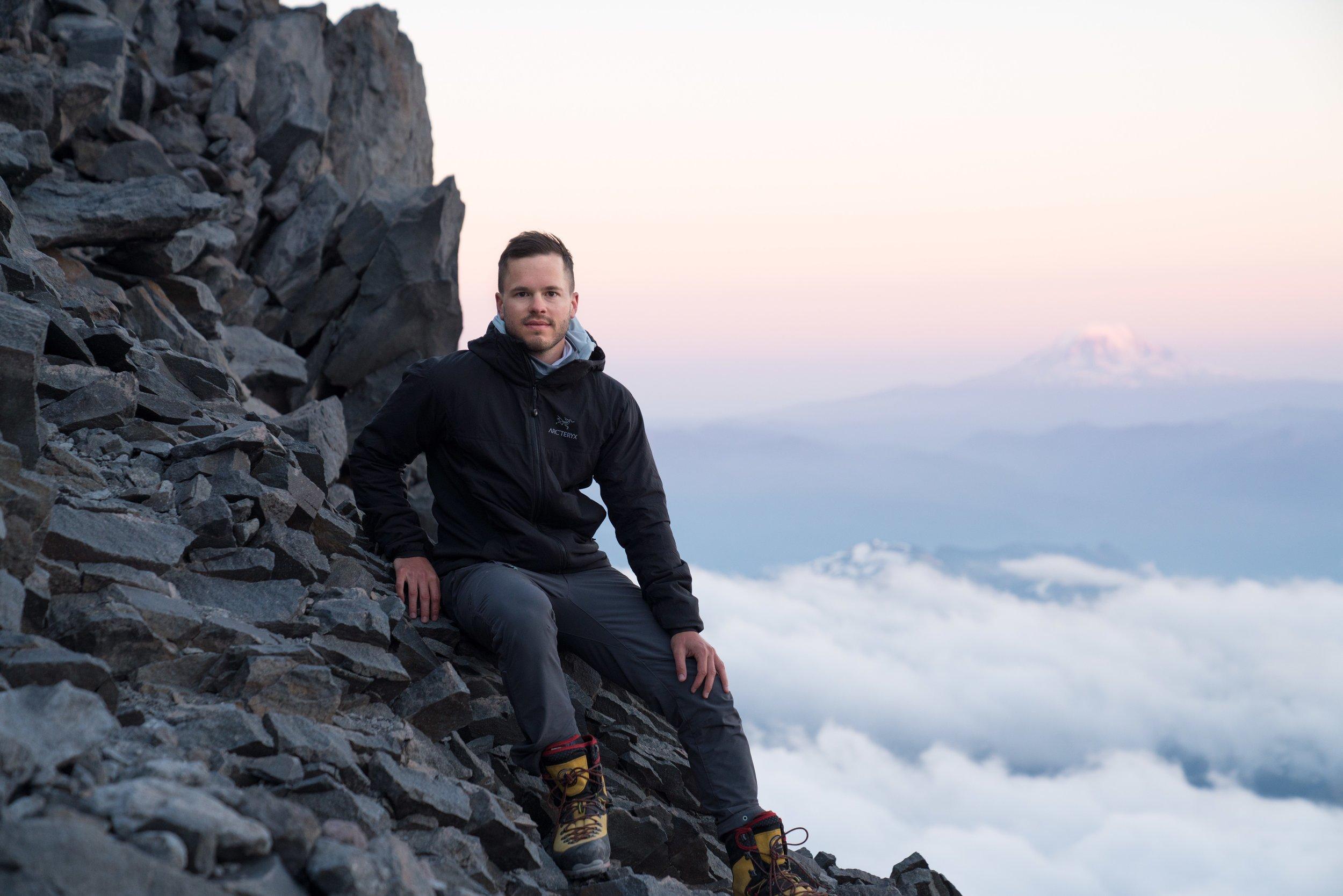 Climbing Mount Rainier, Washington