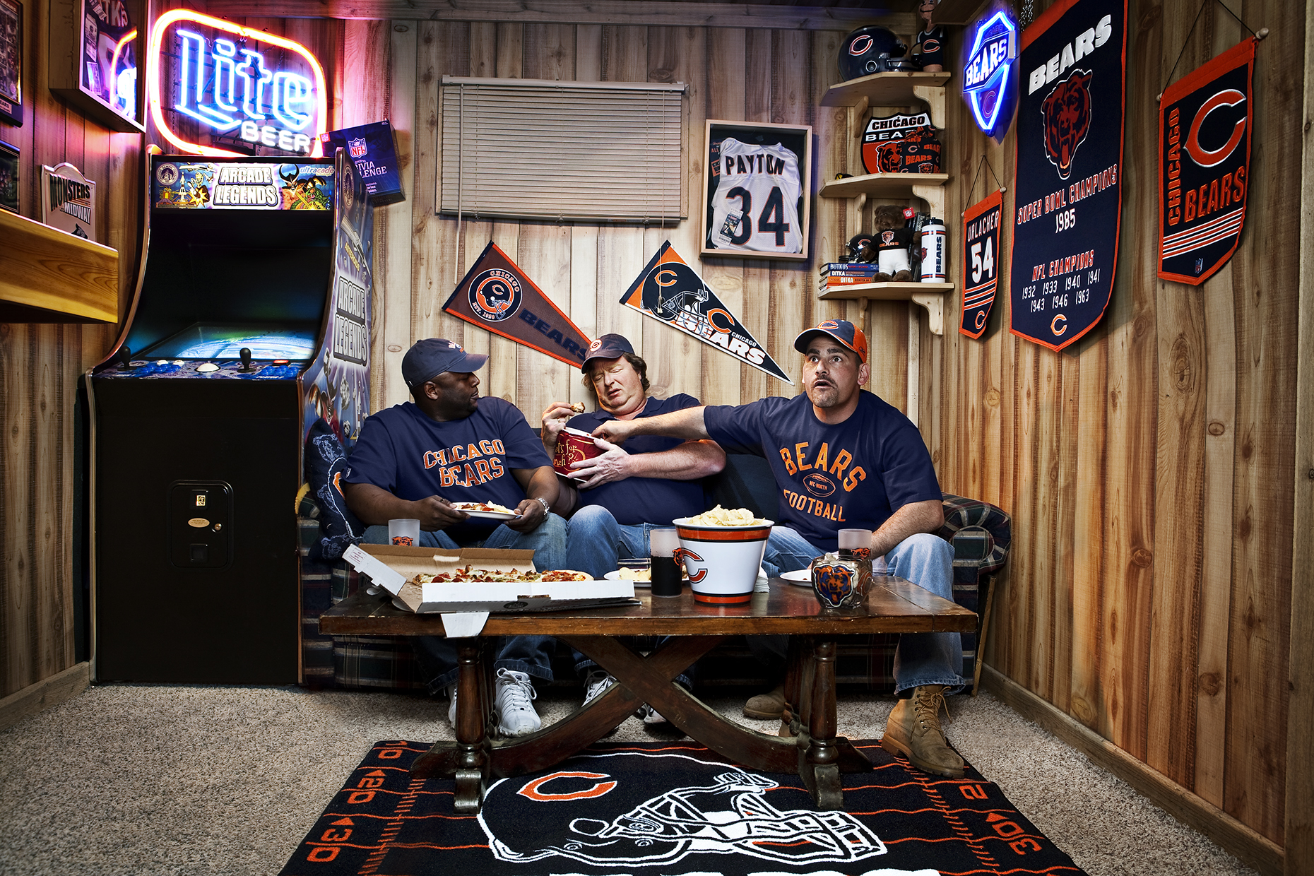 Photo by Taylor Castle for the Chicago Bears