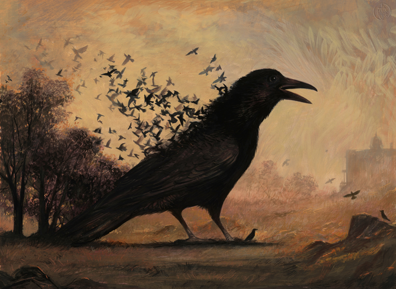 Birth of the Crow