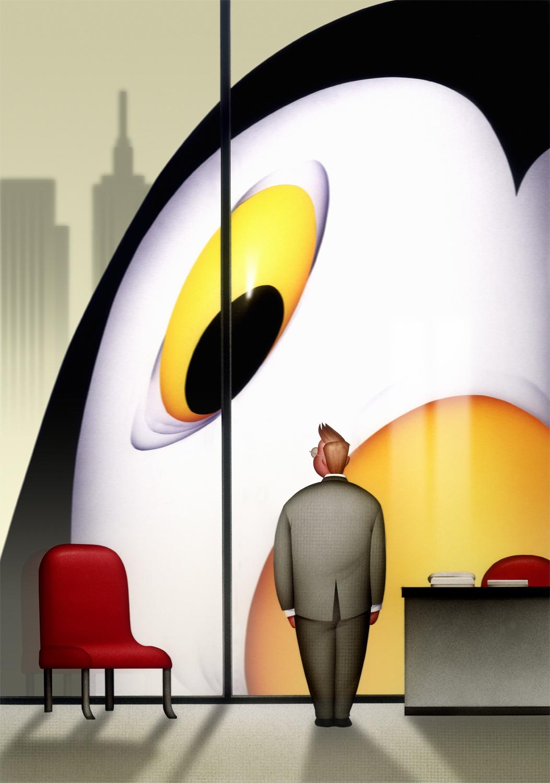 King Penguin, Infoworld
