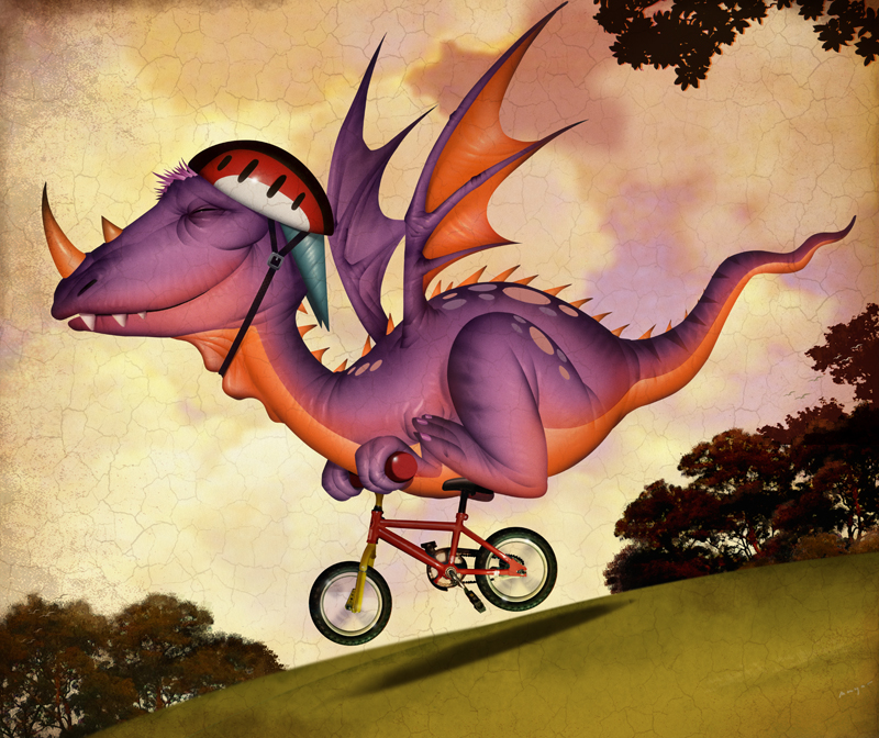 Biking Dragon, Weymouth Design