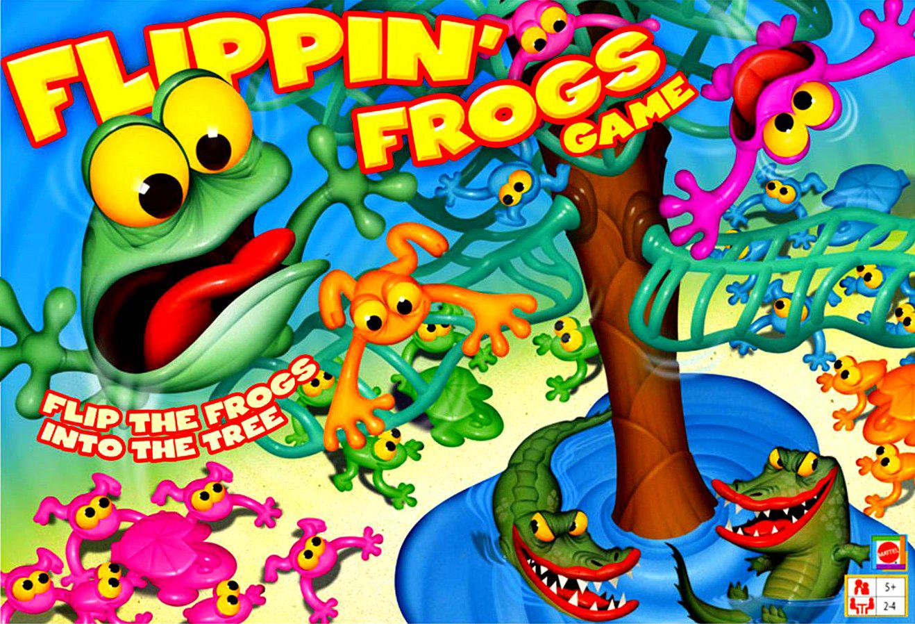 Flippin Frogs, Mattel