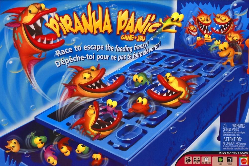 Piranha Panic, Mattel