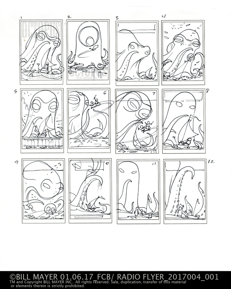 thumbnail for Octopus Shiny Treasure Bay. They picked #1 and #8 both very similar directions.