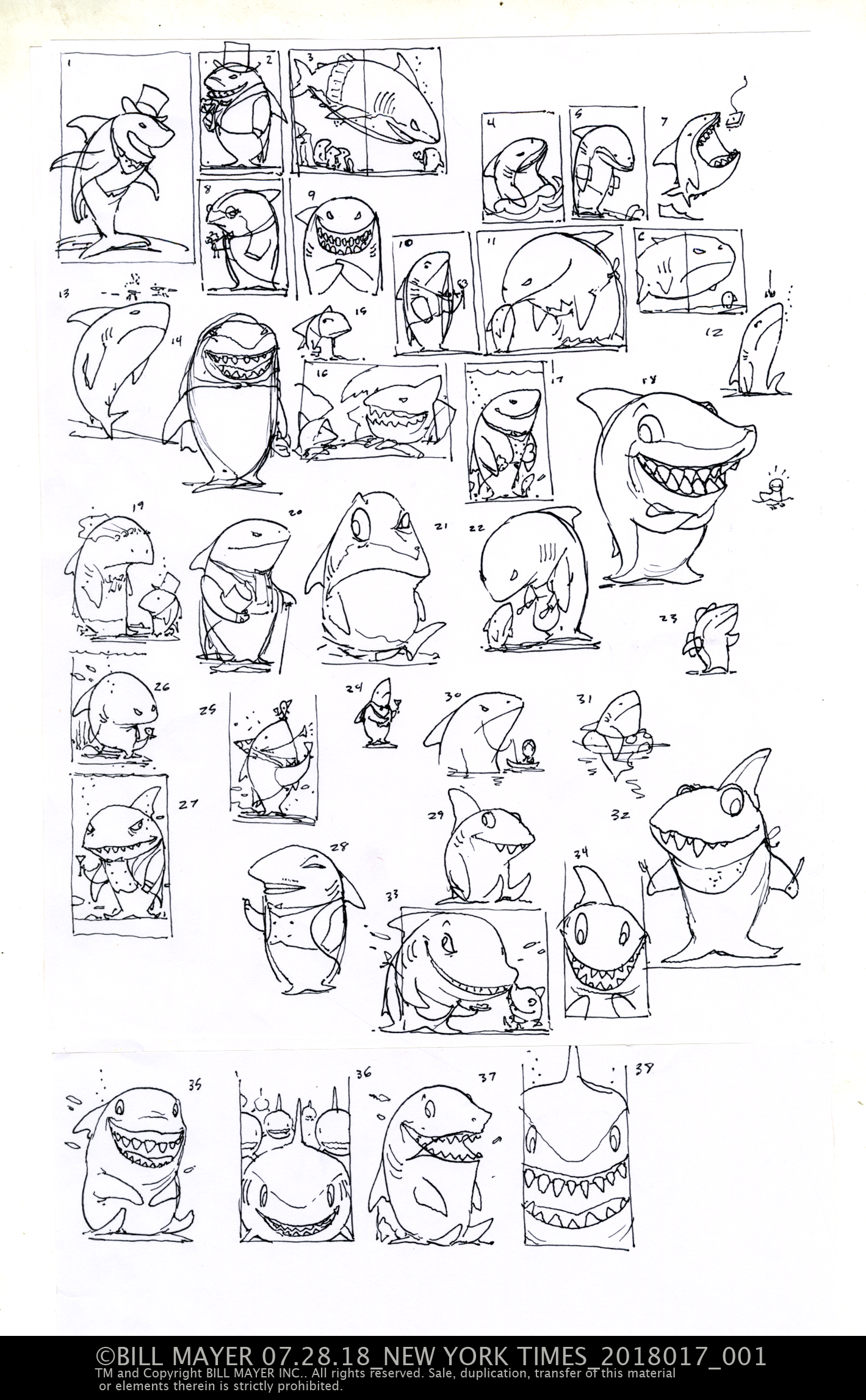 Thumbnails always start off in the same chaotic direction… So many ideas ,so many directions looking back at them alwys brings a smile and a thought of bringing another one to life.