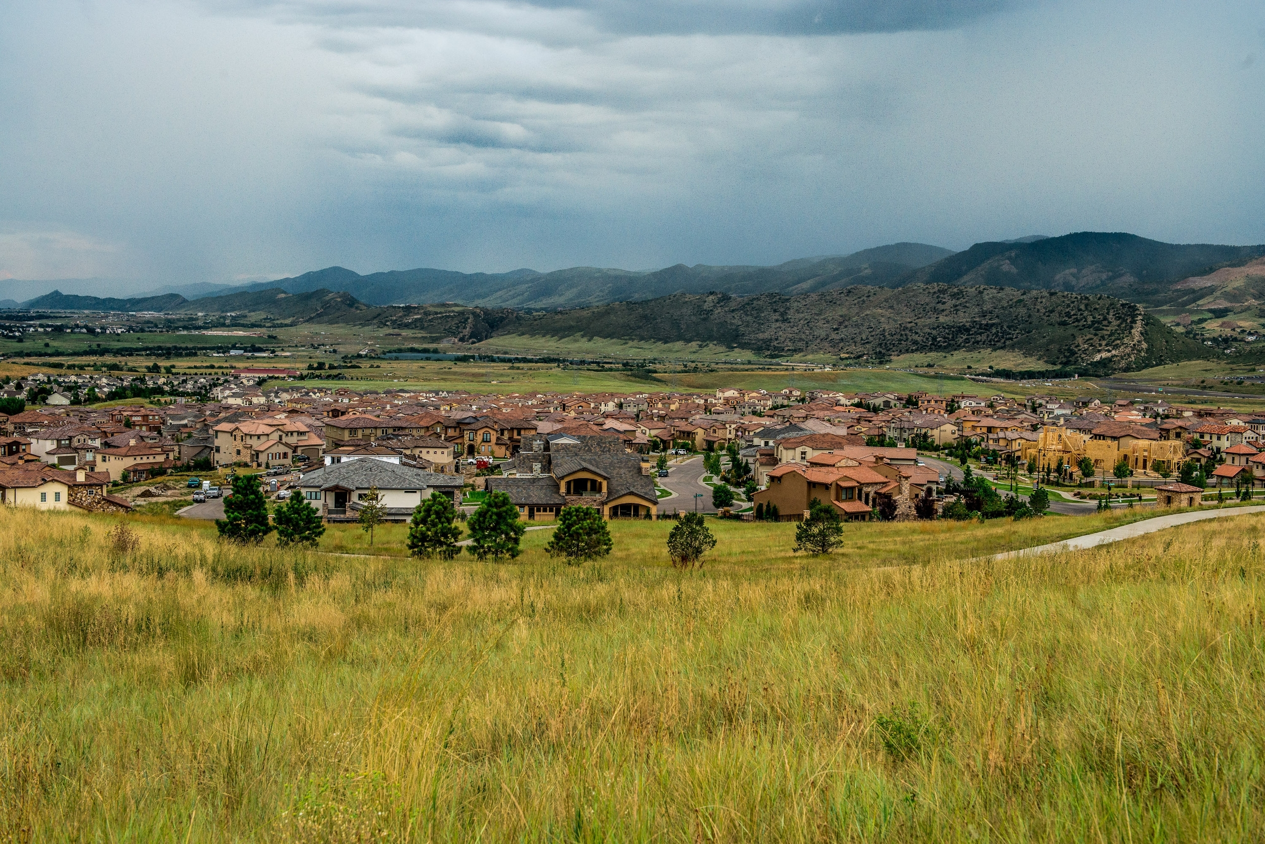 Solterra neighborhood in Colorado's beautiful foothills