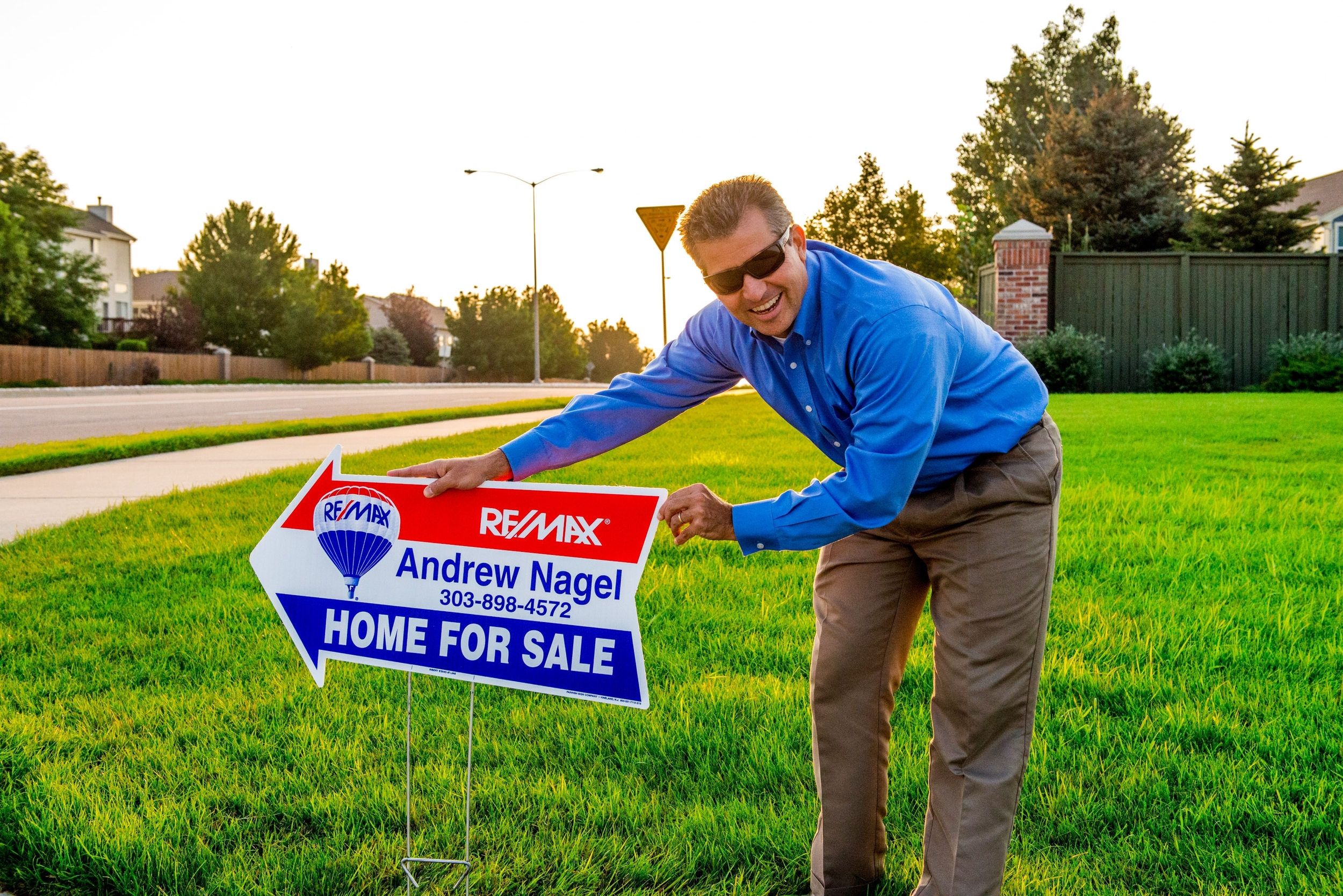 Andrew Nagel, Solterra listing agent and RE/MAX realtor