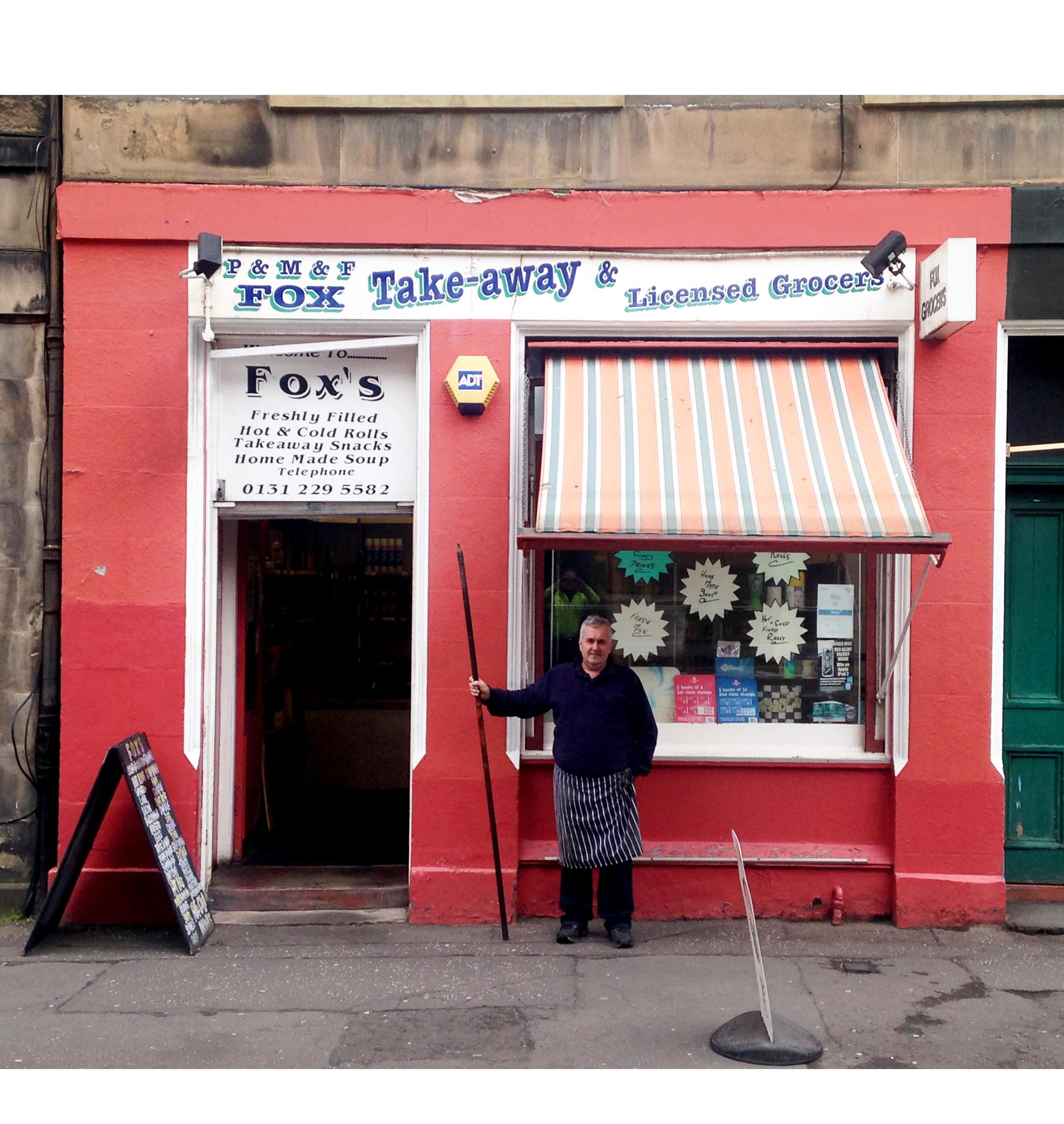 Schop:  Grindlay Street