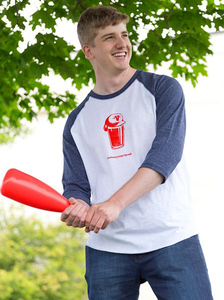 Yes, I am comfortable enough in my masculinity to play whiffle ball with a children's bat.