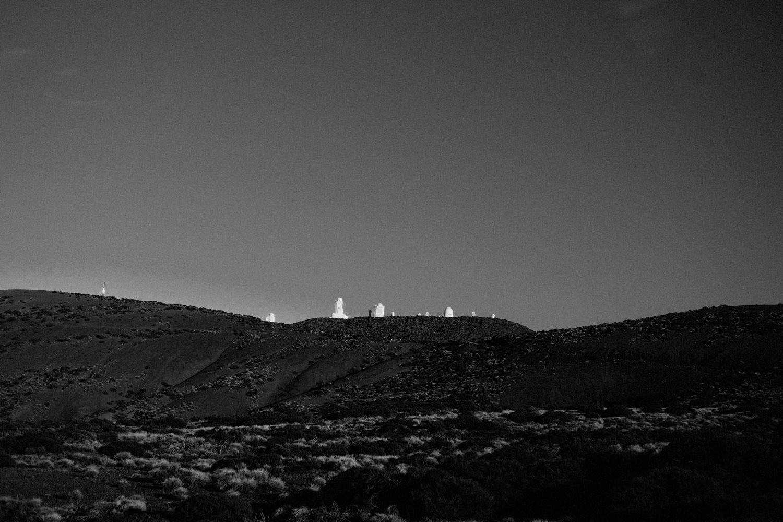 Nån slags rymdstation (?!) uppe på El Teide.