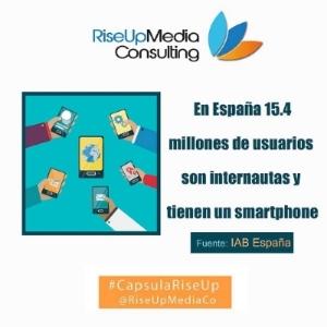 Internautas móviles en España