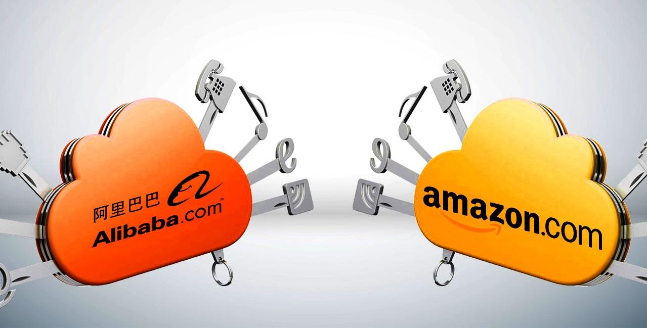 Alibaba y Amazon