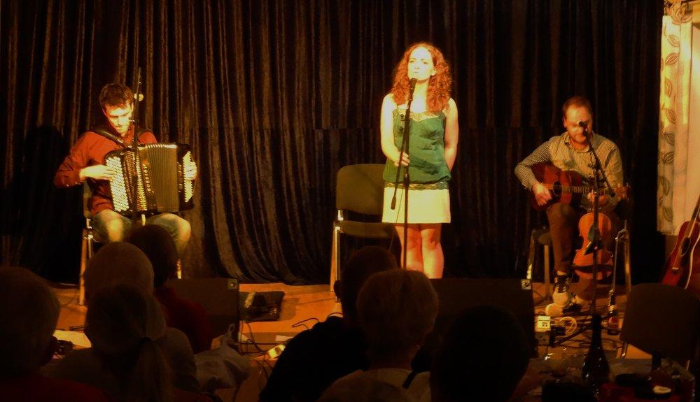 2016 9. september Robin Stabletons trio