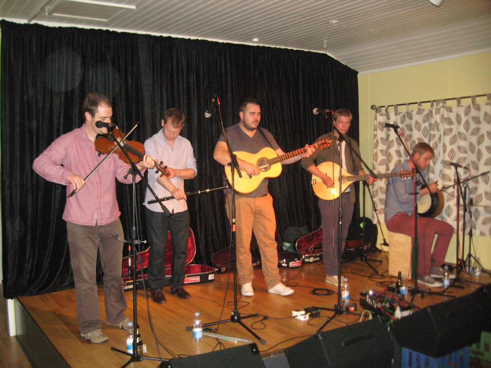 2012, 14. september, Paul Mckenna Band, ugen derpå (Eugene Grahams bortgang)