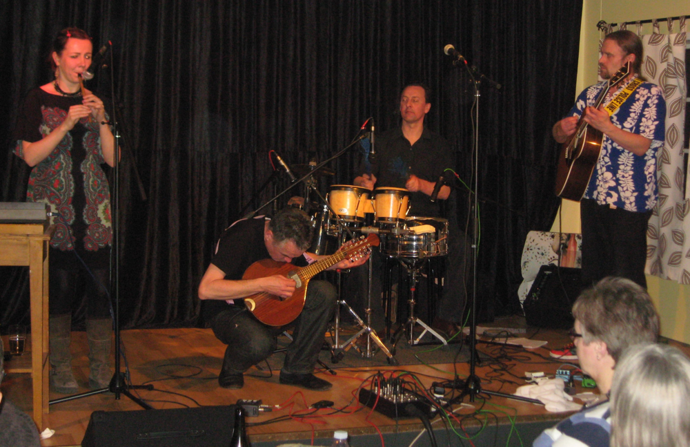 2011, 26. februar, Nuala Kennedy Band, Irland, Skotland