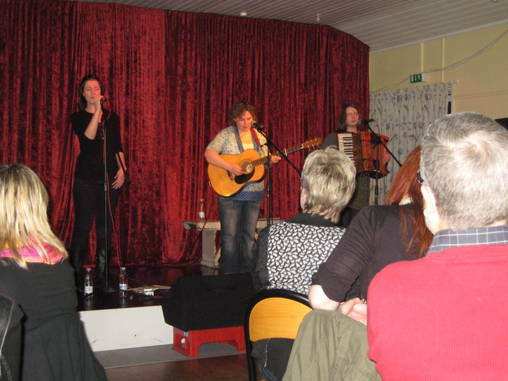 2009, 21. februar, Fabelagtige Annae Massie Band fra Skotland