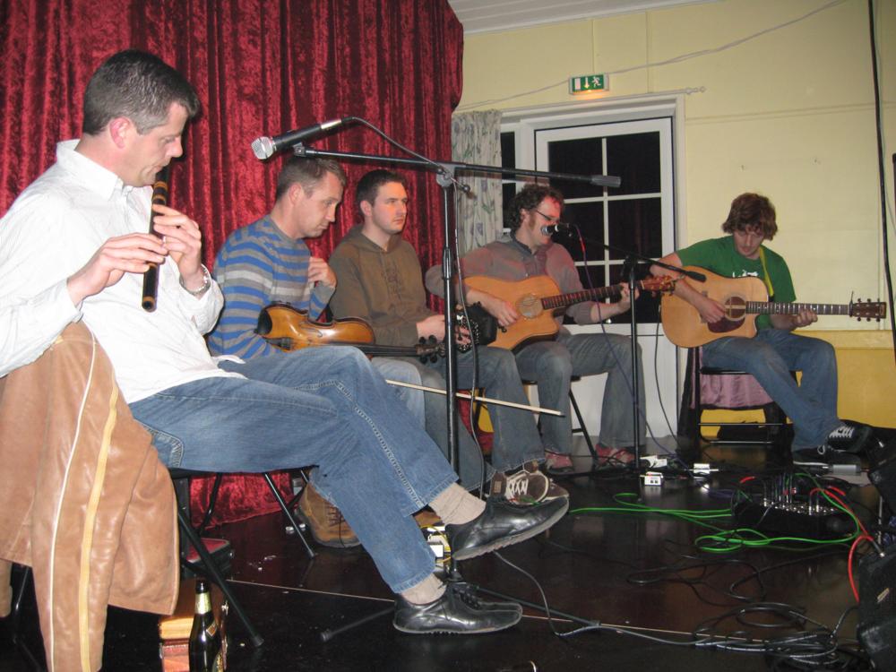 2007, 17. november, Padraig Rynne den irske concertina virtuos med band
