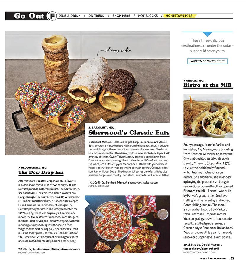 Feast Magazine - Chimney Cakes