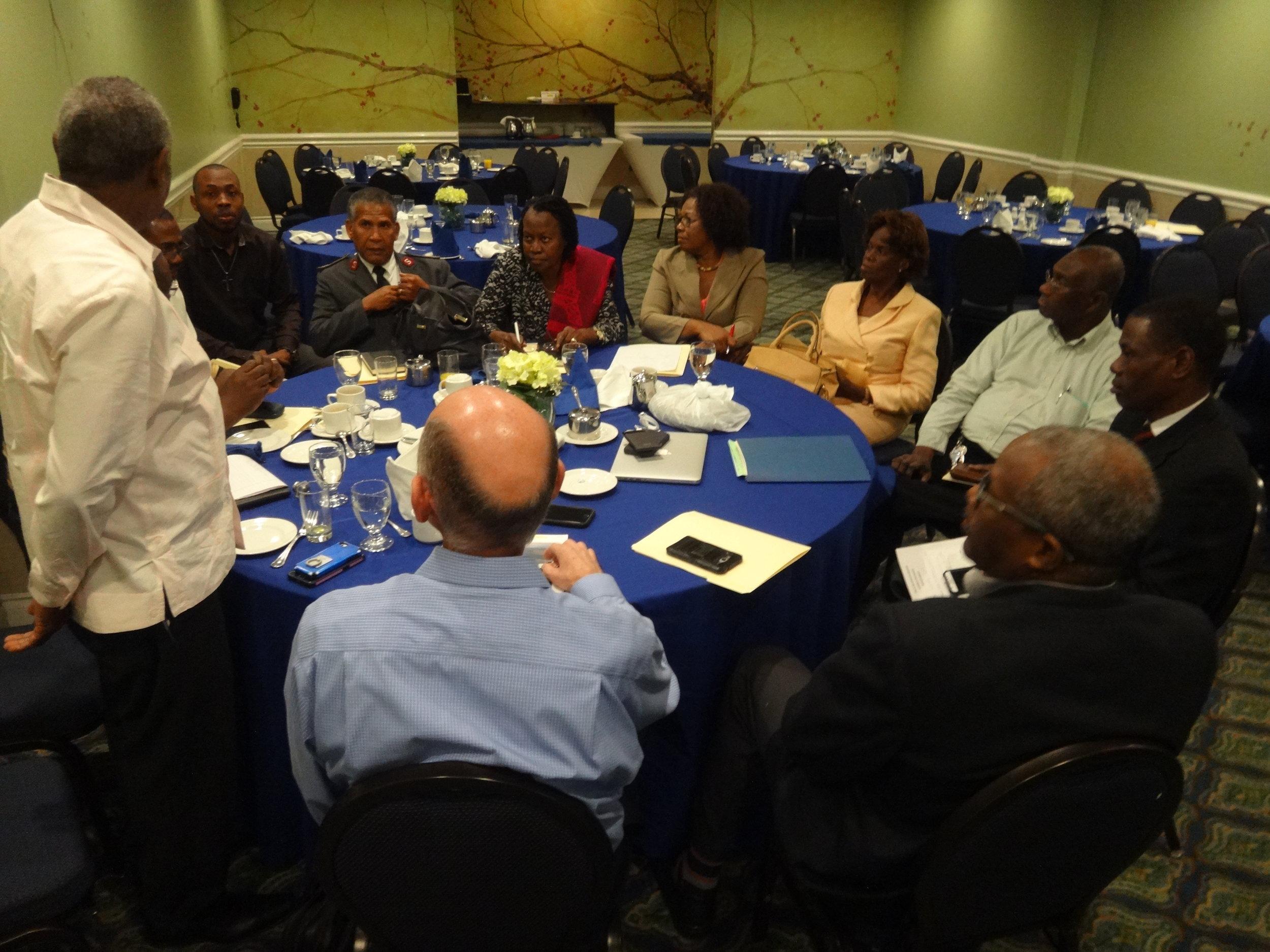 Pre- Congress meeting in Jamaica