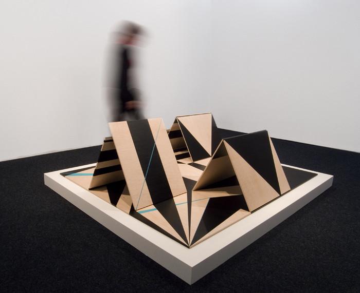 Instalación Piezas-Cubo,2009