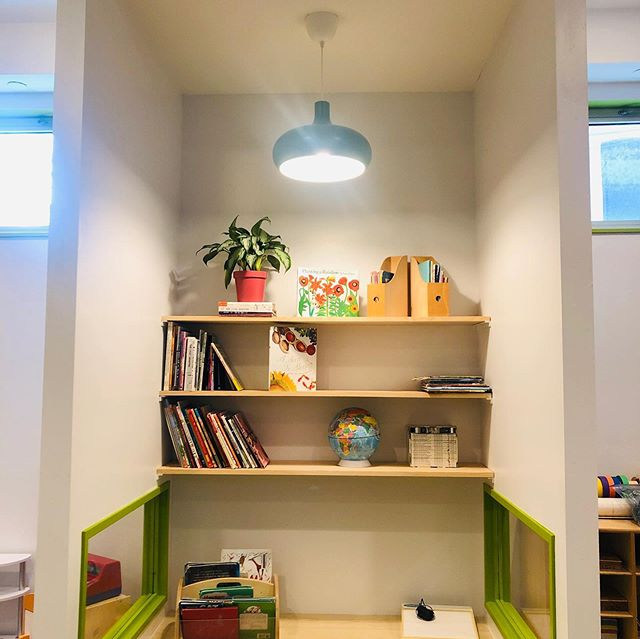 Come check out our new environment ✨ #library #garden #reggioemilia #classroom #progressive #love #learning #prospectheights #pka #prospectkidsacademy