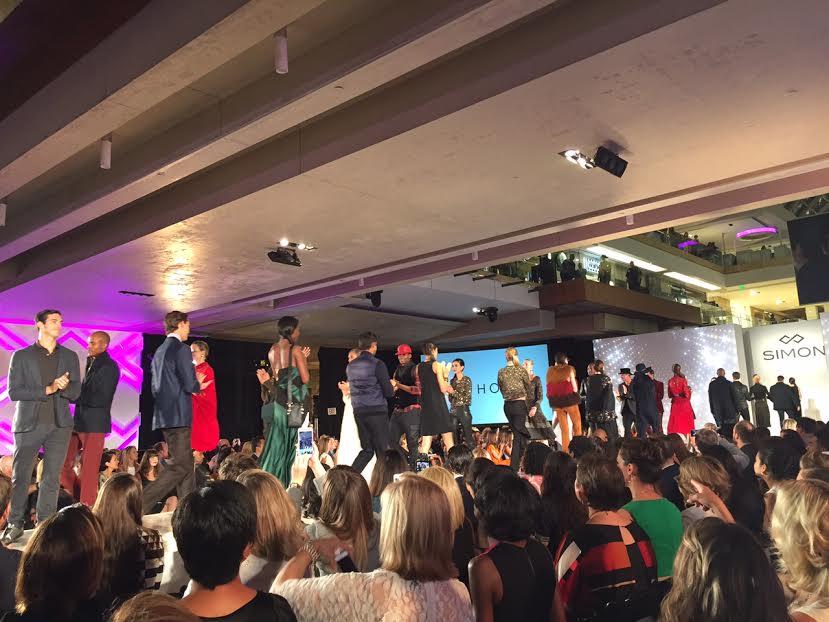 Houston Galleria Mall Fashion show