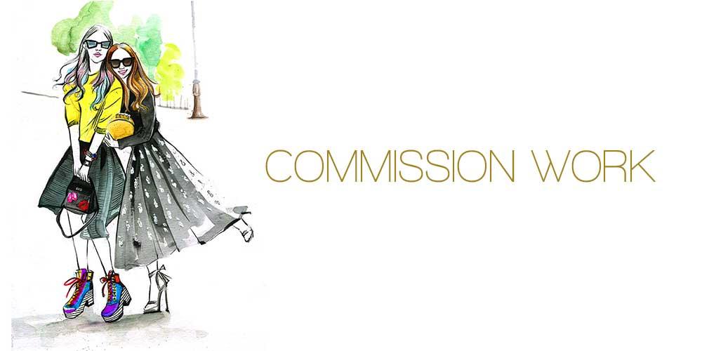 freelance fashion illustration by Rongrong Devoe Illustration