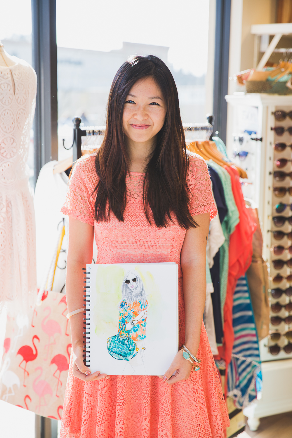 Fashion Illustrator Rongrong DeVoe featured on Francesca's blog