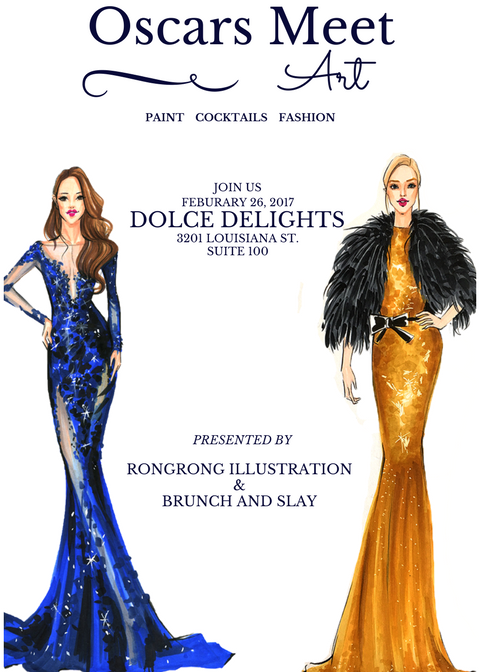Fashion Illustration Workshop by Rongrong DeVoe