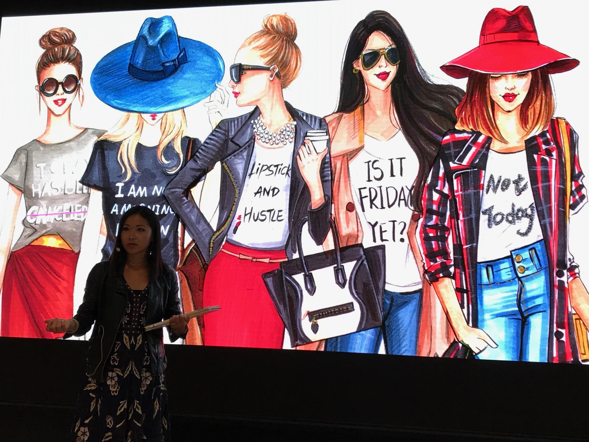 Fashion Illustrator Rongrong DeVoe Talk at Today At Apple.JPG