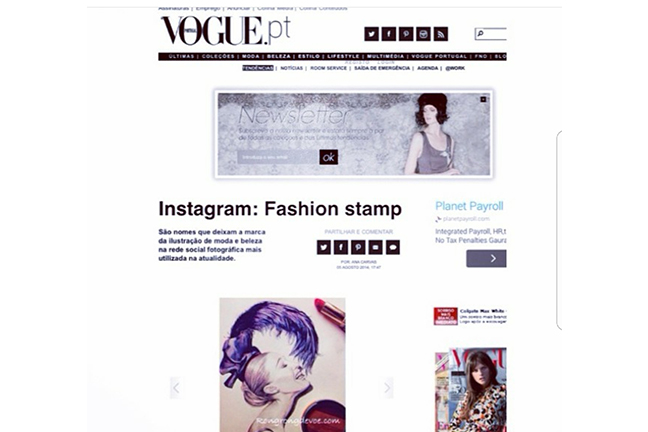 Rongrong DeVoe featured on Vogue as fashion illustrator to follow on Insagram.jpg