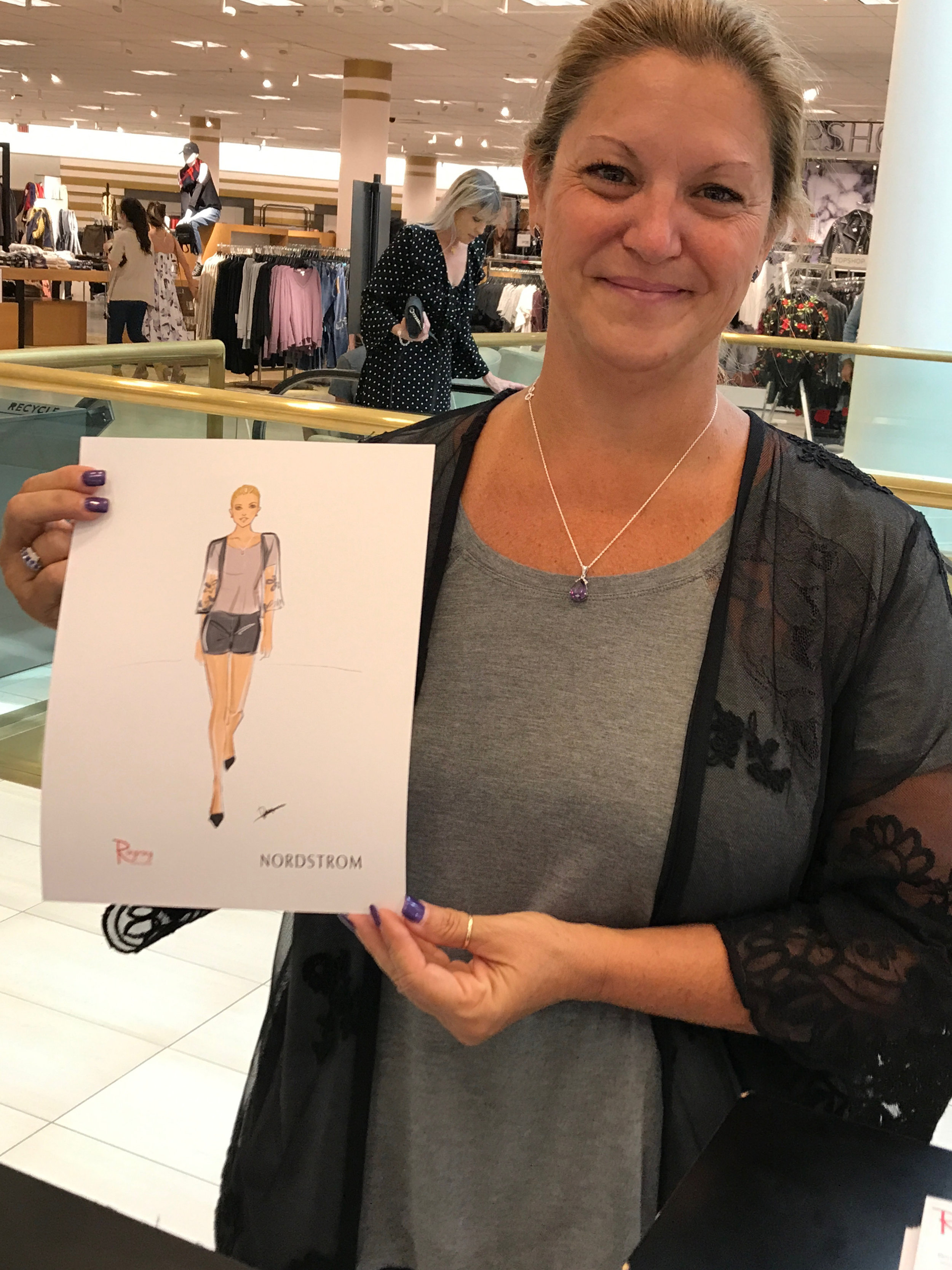 Live fashion sketching at Nordstrom dallas event by Rongrong DeVoe-1.JPG