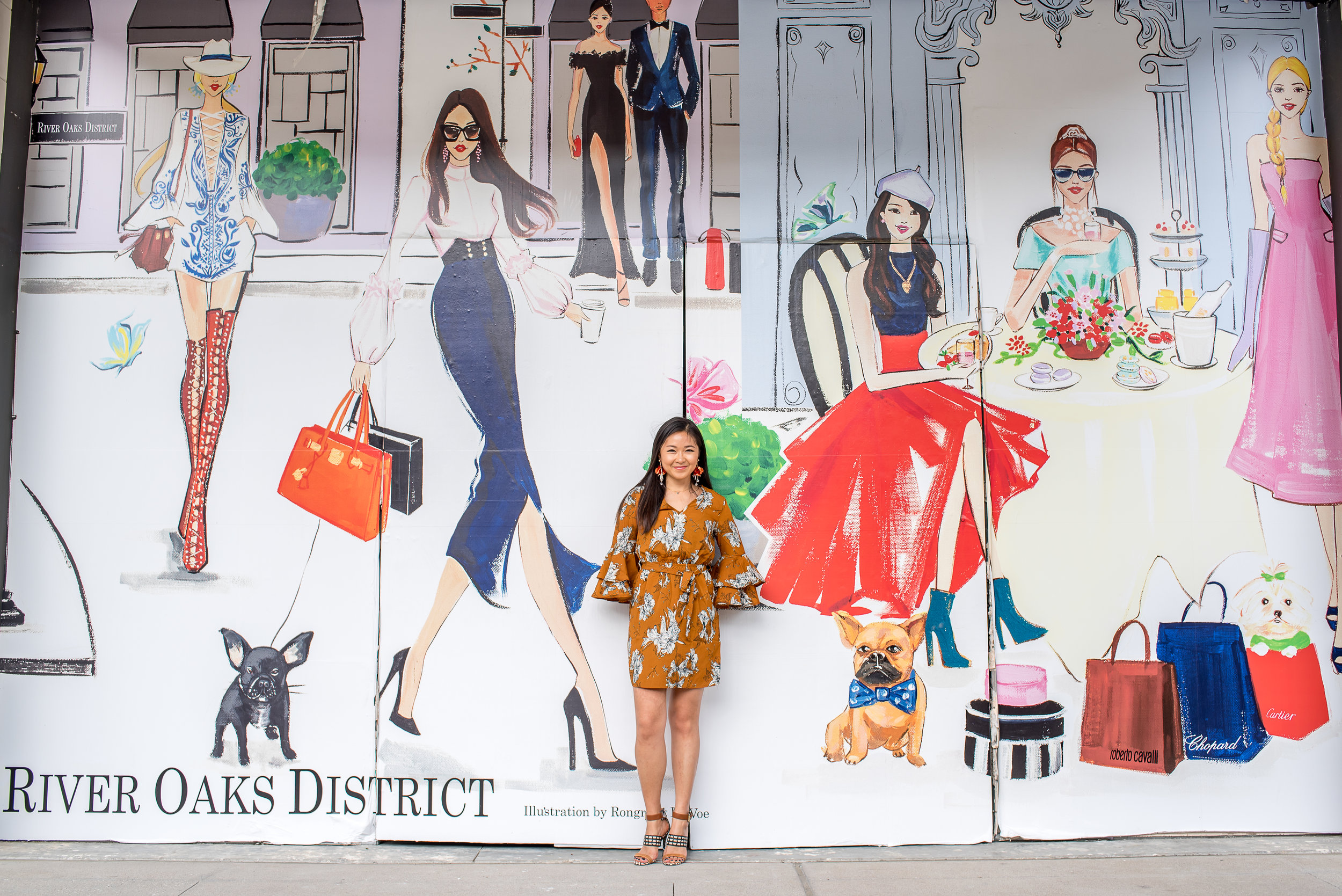 Fashion Illustration Mural at River Oak District by Rongrong DeVoe.jpg