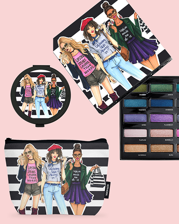 Sephora MakeUp Packaging designed by Licensing artist Rongrong DeVoe.jpg