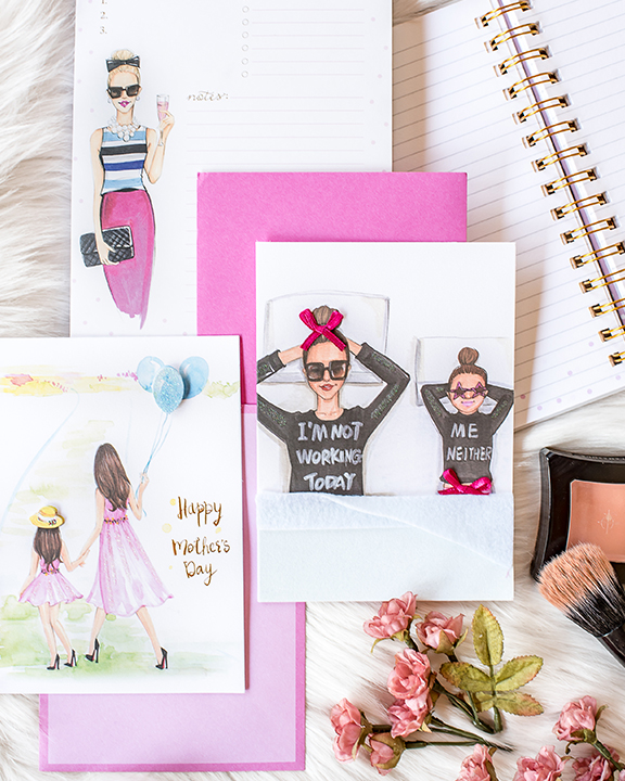 Rongrong DeVoe Tjmaxx stationery collection for art licensing.JPG