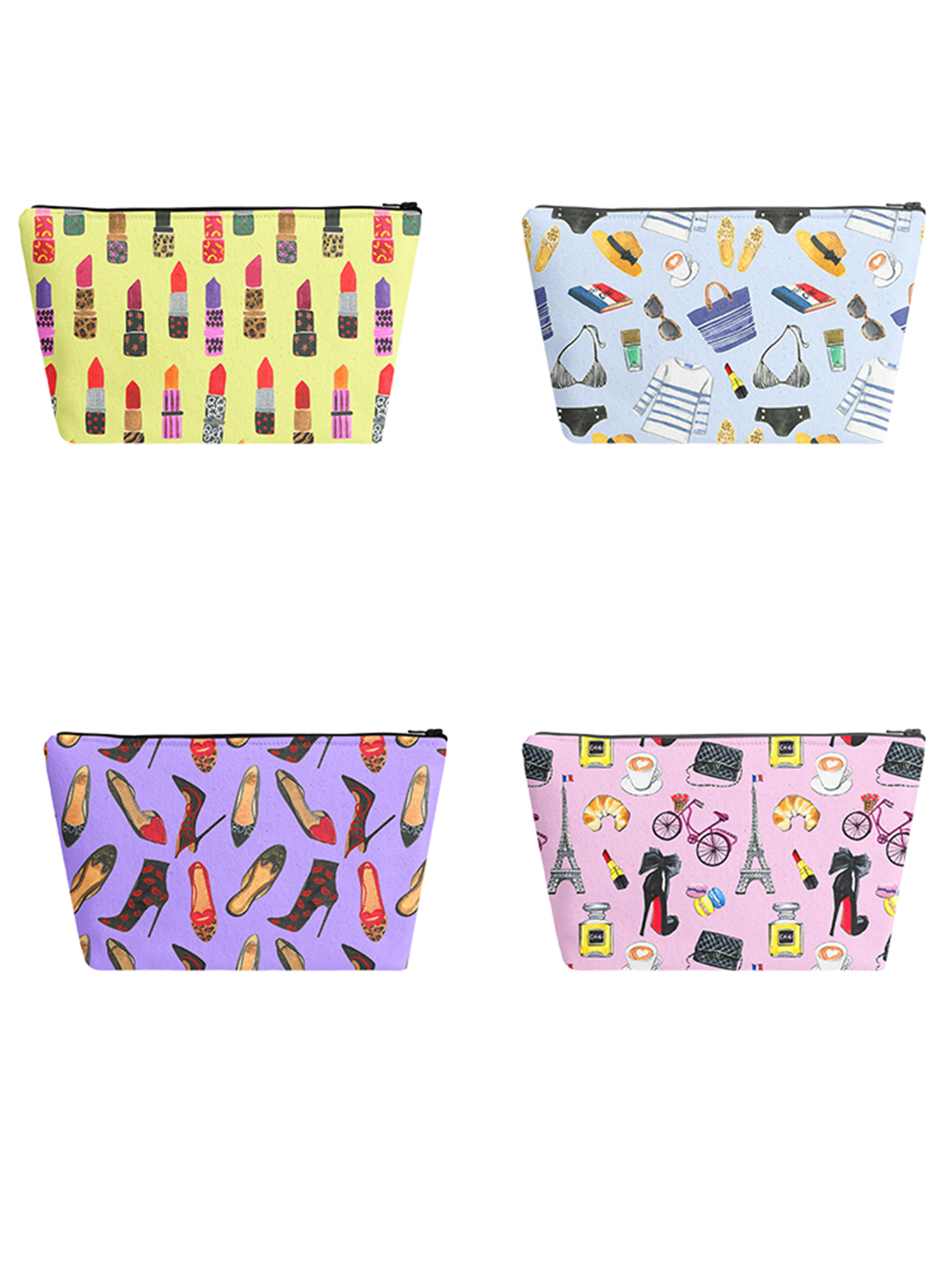 fashionable pattern for makeup pouches by rongrong devoe.jpg