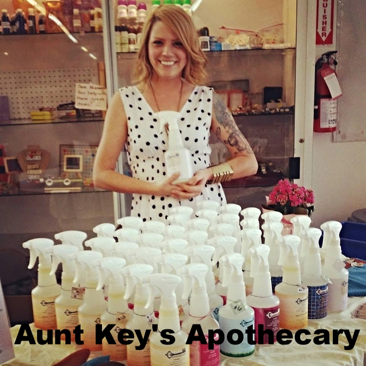 Memphis based green cleaning company! Aunt Key's Apothecary makes all of their own sprays in addition to providing house cleaning services in the area. Foster a dog with ALIVE Rescue Memphis and Aunt Key's will give you a little discount to sweeten the deal!