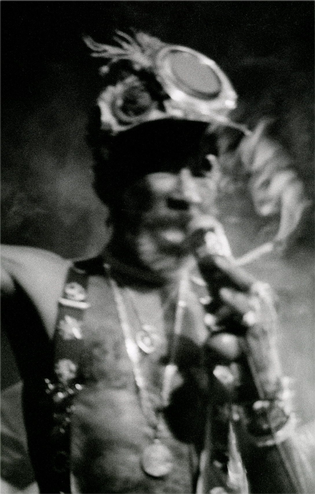 """Lee """"Scratch"""" Perry, Maritime Hall, SF, CA. 1998"""