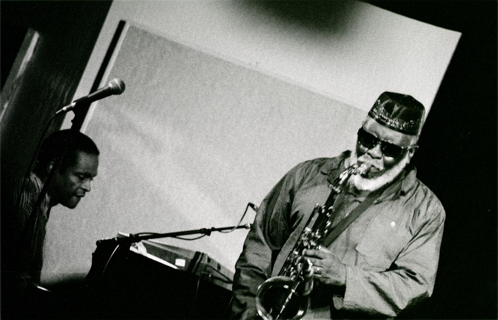 Pharoah Sanders, Kuumbwa Jazz Club, Santa Cruz, 1997
