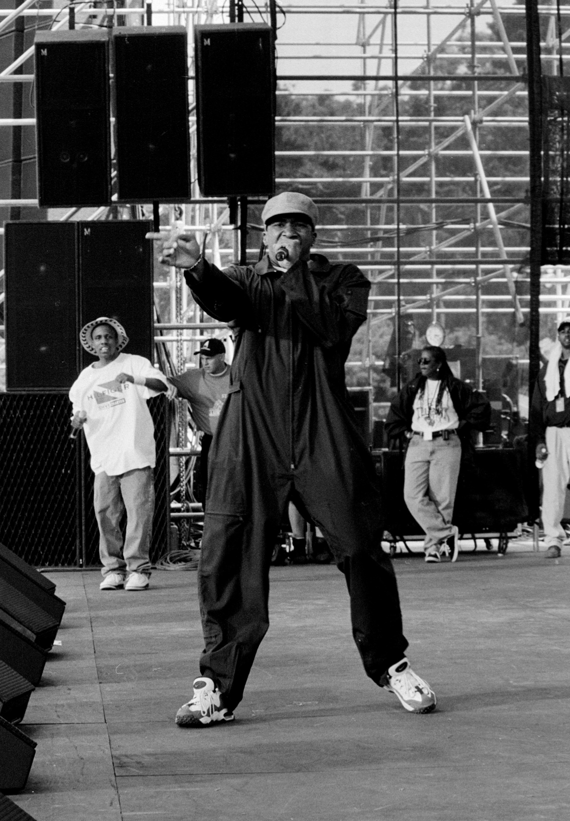 Q-Tip and Consequence, Tibetan Freedom Concert, SF, CA, 6/15/96