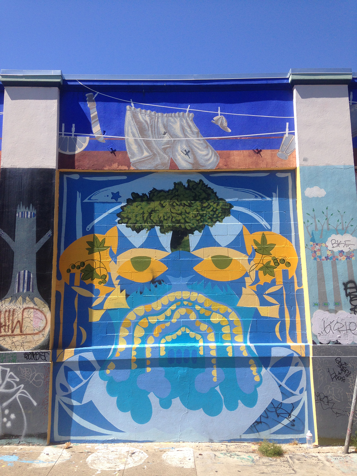 Mural on Sycamore Alley, Mission District, SF, CA