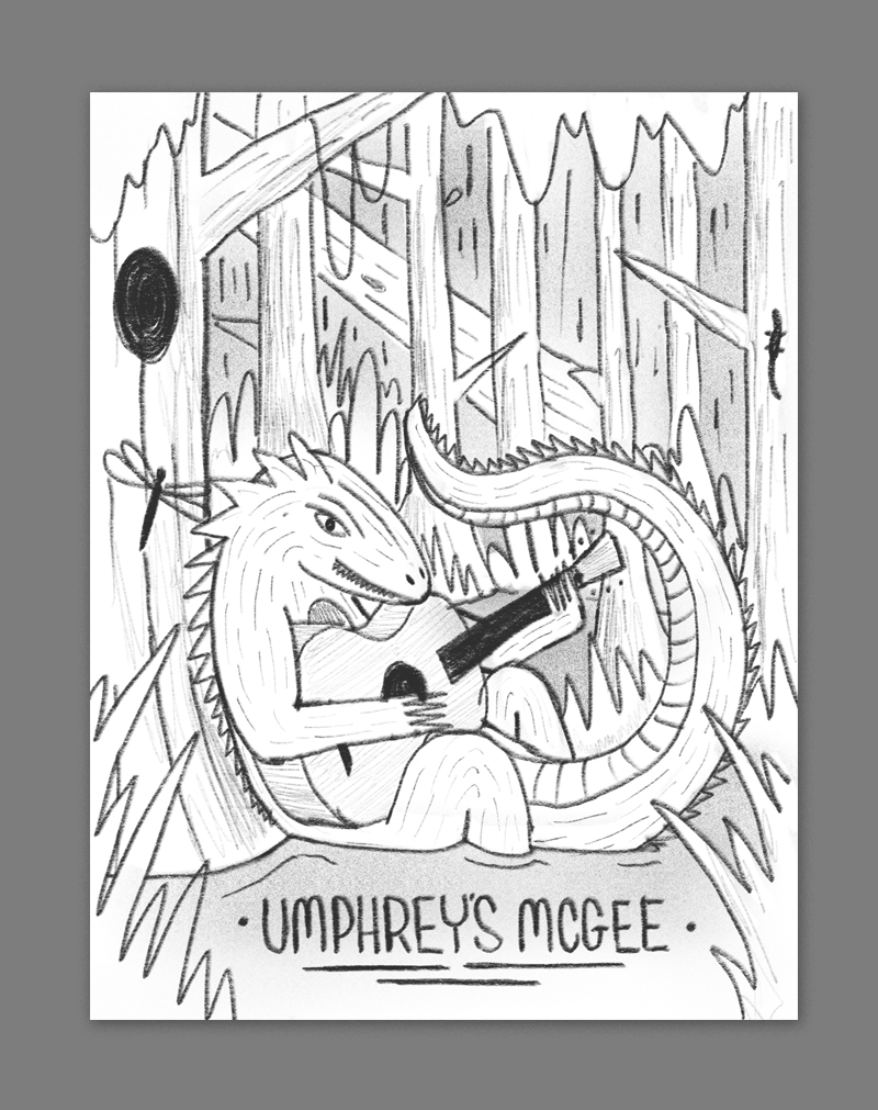 There's a local legend that a  lizard man  inhabits the swamps surrounding the midlands - here we have found him leaning on an old growth cypress tree and jamming on a guitar.